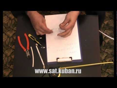 Изготовление простой антенны.