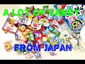 A lot of candy for kids from Japan!
