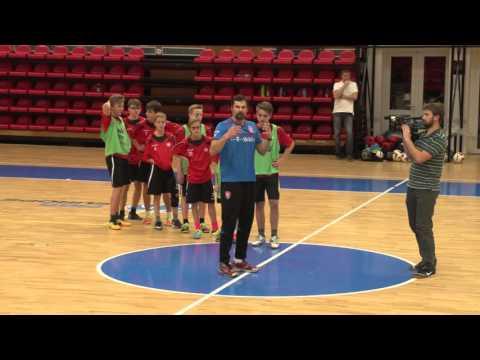 Ukázkový atletický trénink (Jan Netscher)