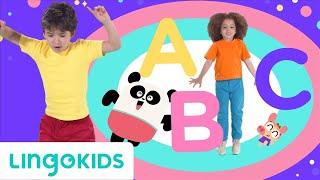 ABC DANCE 🔤 🎶| Dance with the Lingokids ABC CHANT | Lingokids