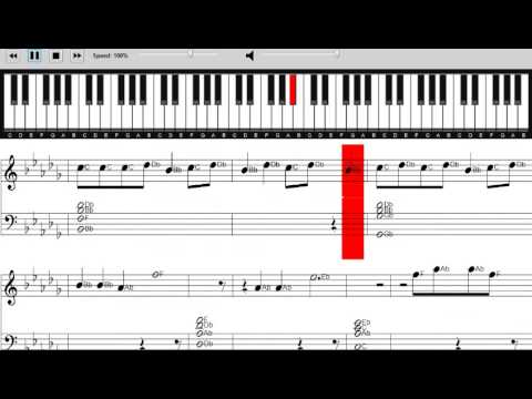 Colbie Caillat - Try - Sheet Music Piano Tutorial - How to play