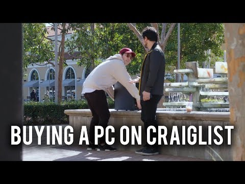 I bought a USED PC on Craigslist. Here's what happened!