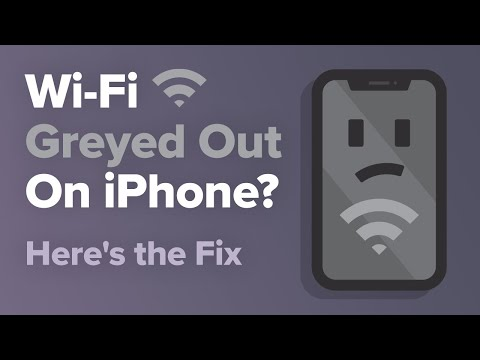 Wi-Fi Greyed Out On IPhone? Here's The Fix.