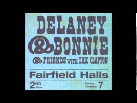 Delaney & Bonnie With Eric Clapton - Live CD4 - 1969