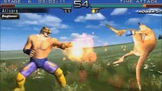 Tekken 5 Dark Resurrection: Time Attack Mode - King