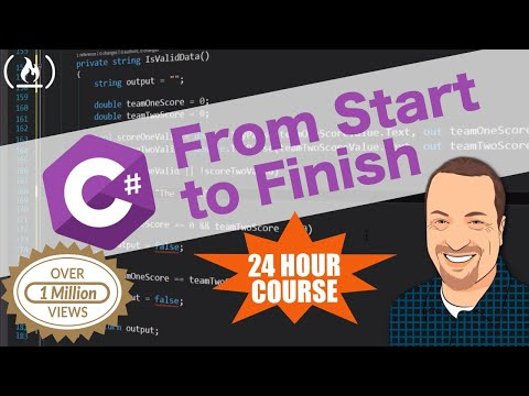 Create A C# Application From Start To Finish - Complete Course