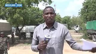 Magari ya jeshi yakiwasili mtwara kubeba korosho kwa agizo la raisi Magufuli