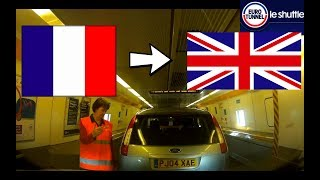EUROTUNNEL FRANCE TO UK BY CAR - CALAIS TO FOLKESTONE 2018 EN VOITURE