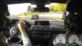 Nürburgring Nordschleife - BMW M4 Pack Competition vs McLaren 675 LT