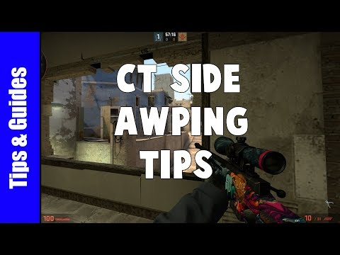 How  to AWP on CT Side