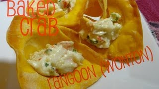Baked (and Fried) Crab Rangoons With Cookingandcrafting
