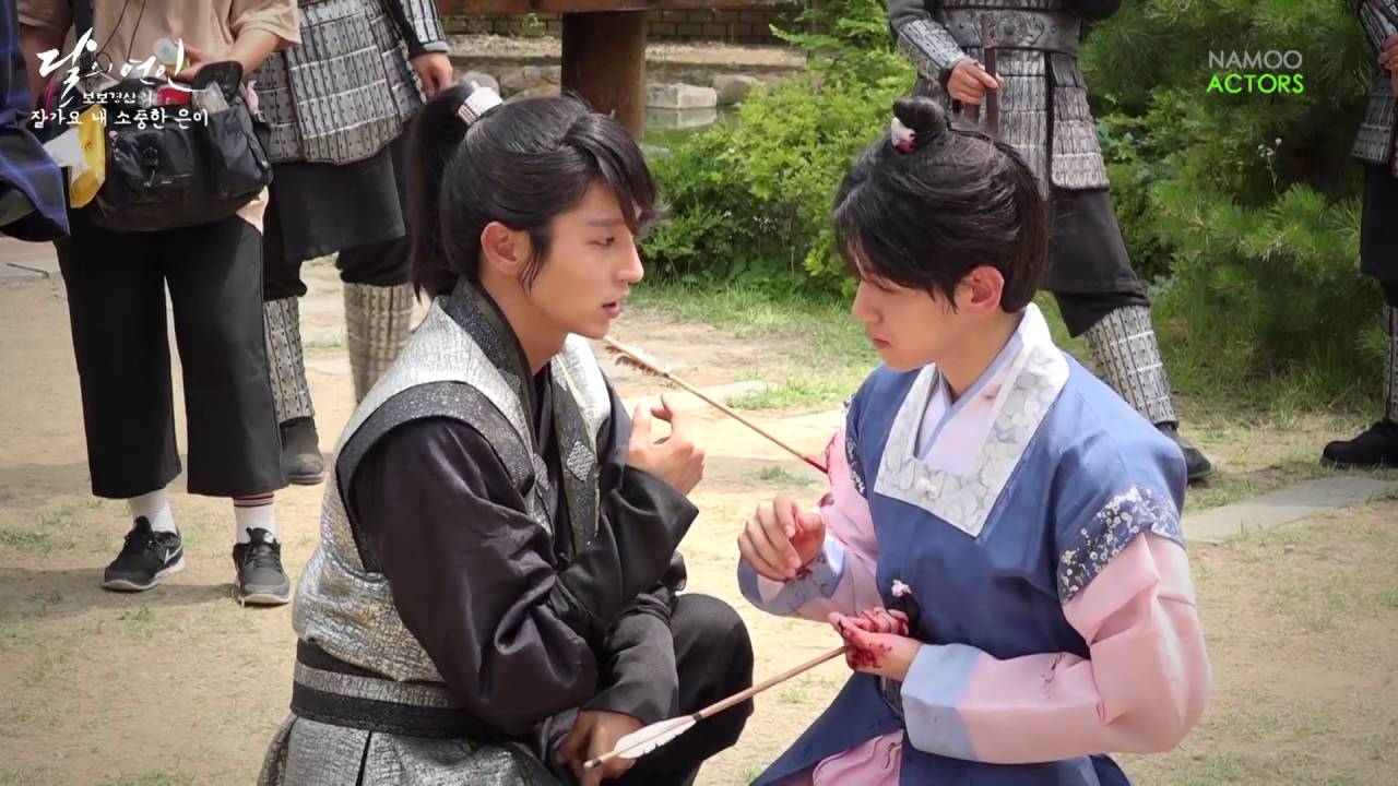 Image result for behind the scenes scarlet heart ryeo