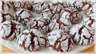 """Все нюансы и тонкости - рецепт печенья """"Шоколадные трещинки"""""""