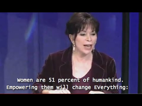 cc EMPOWER WOMEN - Isabel Allende -- TED