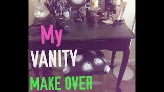 Diy Vanity Seat Plus Vanity Makeover