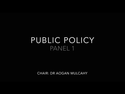 Panel 1: Public Policy