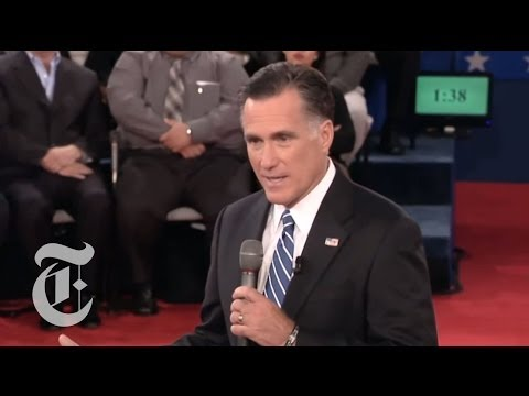 Election 2012 | Romney on Pay Equity for Women: 'Binders Full of Women' | The New York Times