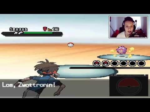 DIE ERSTE ENTWICKLUNG! :O - Pokemon Schwarz 2 (6)