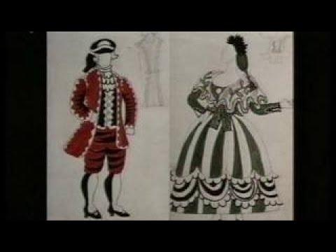 Picasso and Dance. Parade, 1917