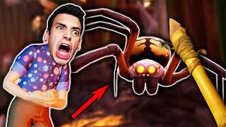 I SHRUNK MYSELF AND FOUGHT GIANT SPIDERS! (Grounded)
