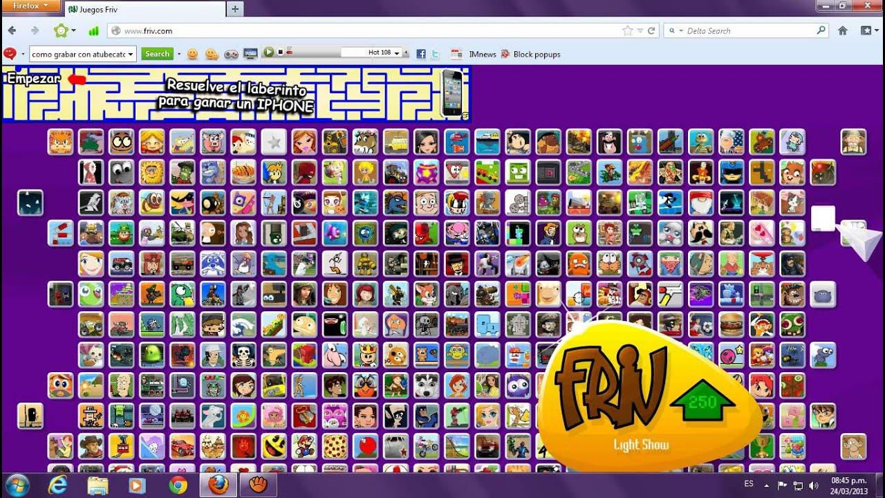Friv - Los Juegos Ocultos De Friv 2013