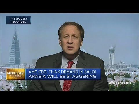 AMC CEO: There's an enormous pent up demand for cinema in Saudi Arabia | Capital Connection