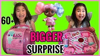 LOL Surprise BIGGER SURPRISE is Here! We Got It | Full Unboxing of 60 Surprises