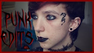 PUNK EDITS IN REAL LIFE | Late To The Trend Kid | ChandlerNWilson