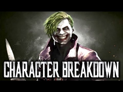Injustice 2: Joker - Character Breakdown! [Tutorial and Guide: How to Play - Moves, Combos]