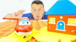 Vídeo de juguetes Jett y Súper Wings en español