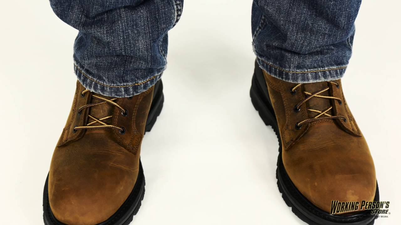 a5ce9dc0378 Carhartt Boots: Men's Waterproof Oil Tanned Leather Work Boots CMW6120