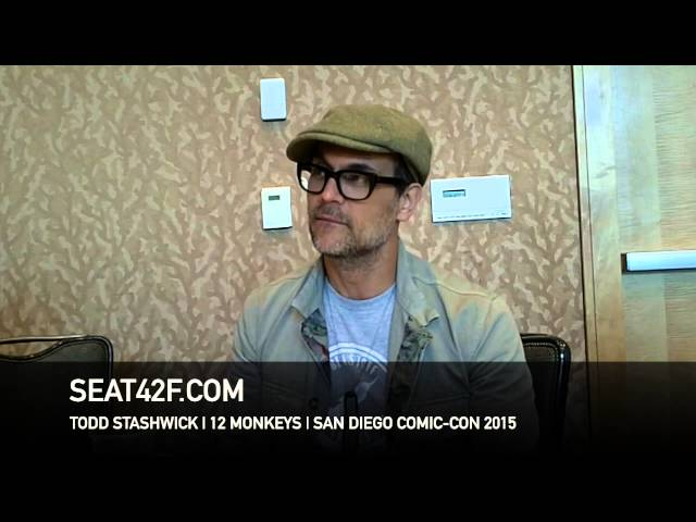Todd Stashwick 12 MONKEYS Comic Con 2015 Interview