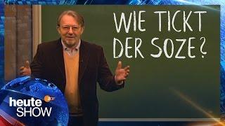 Was sind Sozialdemokraten? Dietmar Wischmeyer erklärt's | heute-show vom 24.03.2017