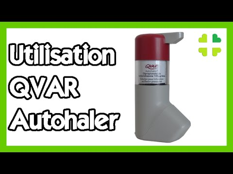 Utilisation du QVAR Autohaler - YouTube