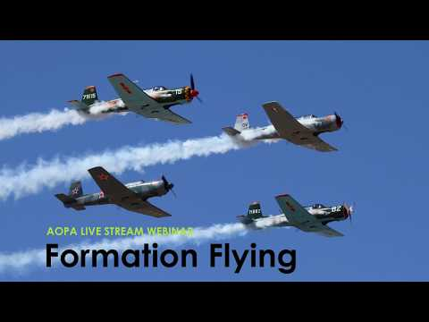 AOPA Fun Flying Series, Session 3: Formation Flying