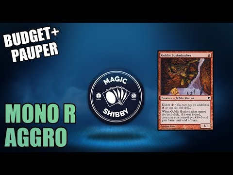 Magic: The Gathering - Mono R Aggro / RDW + Sideboard (Building on a ...