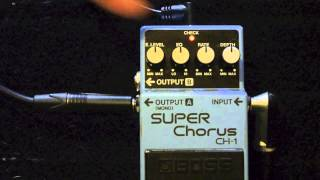 Crofty Reviews... Boss Super Chorus CH-1