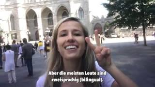 German in 1 minute: Ein kleiner Eindruck von Montreal! Bist du zweisprachig?