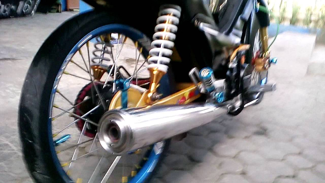 tangunan#100 modifikasi supra x 100 - youtube
