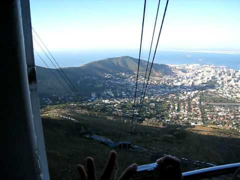 Capetown Table Montain, cable cart