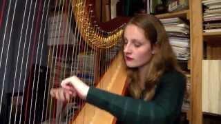 Star Wars Main Theme - John Williams (Harp Cover)