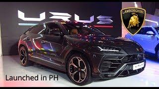 2019 Lamborghini Urus Launched in Philippines