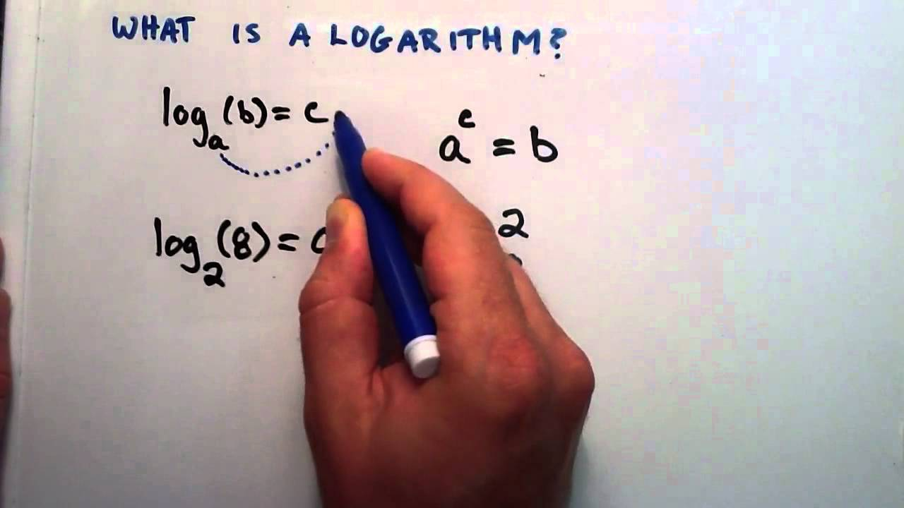 What is a Logarithm  Logarithms Lesson 1  YouTube