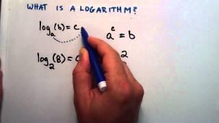 What is a Logarithm : Logarithms, Lesson 1
