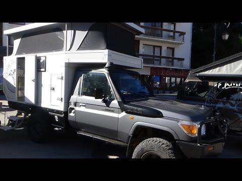 2016 Toyota Land Cruiser Globe Camper 360° - Exterior and Interior - Foire 4x4 Valloire 2016