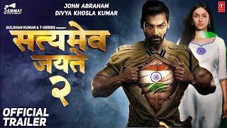 Satyamev Jayate 2 Official Trailer |John Abraham| Divya K| Milap Javeri| Bhushan |