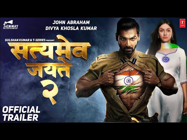 Satyamev Jayate 2 Official Trailer  John Abraham  Divya k  Milap Javeri  Bhushan  