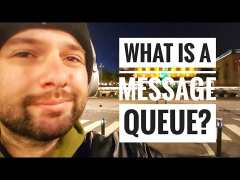 What is a message queue?
