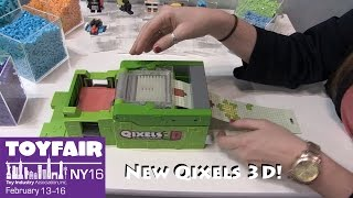 Qixels 3D New Products from Moose Toys at Toy Fair 2016