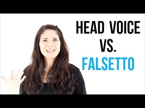 Freya's Singing Tips: Head Voice vs. Falsetto